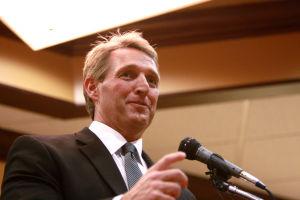 U.S. Senator Jeff Flake - Randy Metcalf/The Explorer