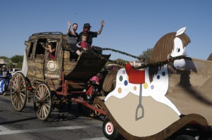 Oro Valley Holiday Parade: Old Stage Coach is an entry in the Oro Valley Holiday Parade, from the Hilton El Conquistador Golf and Tennis Resort.  - Don Boorse/Special to the Explor