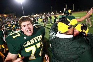 Not Done Yet  : J.D. Fitzgerald/Special to The Explorer, Clayton Mower, 77, celebrates CDO's victory.