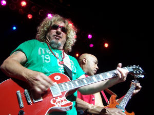 Sammy Hagar: Rock the night away Sammy Hagar, lead singer of the legendary hard rock group Van Halen and member of the Rock and Roll Hall of Fame. Friday, July 26; 8 p.m.; Casino del Sol AVA Amphitheater ; $30-$85. - Courtesy Photo
