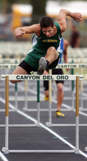 Lezo Urreiztieta: At CDO, Lezo helped win the state title and broke the school record in the 110-meter hurdles. - Randy Metcalf/The Explorer