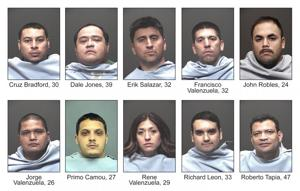 Marijuana Dispensary Arrests