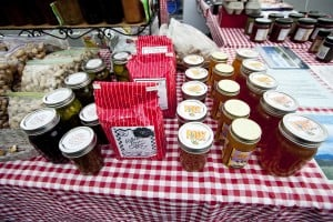 Heritage At Dove Mountain Famers Market: Local honey, peanuts, jams, jellies, and coffee can be found at The Highlands at Dove Mountain Farmer's Market.  - J.D. Fitzgerald/The Explorer