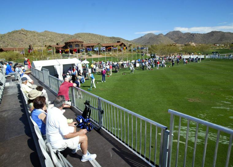 Accenture Match Play Championship warm ups