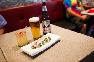Sushi Garden offers generous happy hour menu