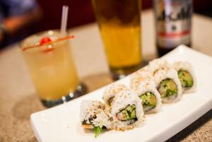 Sushi Garden offers generous happy hour menu