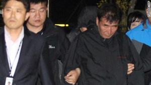 South Korea captain ship sinks