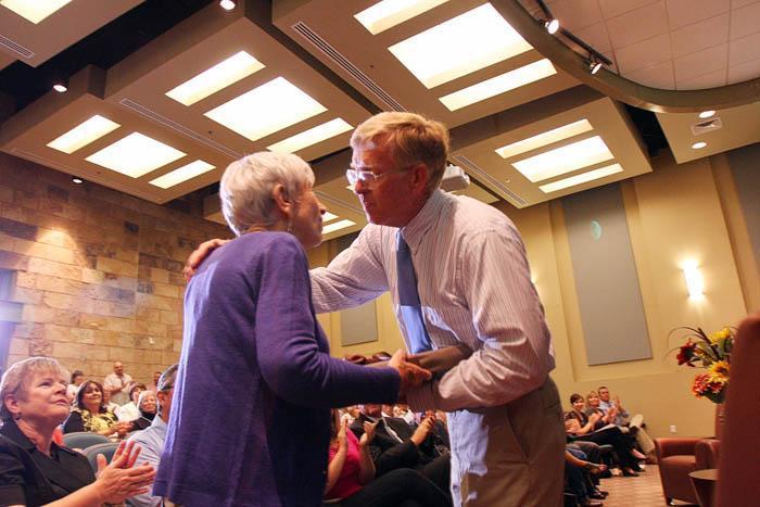 Ora Mae Harn, Hall of Famer Marana's first lady honored