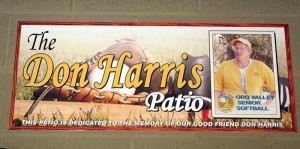 'Huge,' Don Harris always said