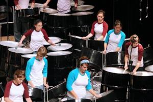 Steel drum band for free March 19