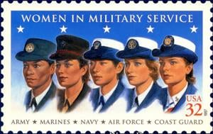 Women in Military Service stamp