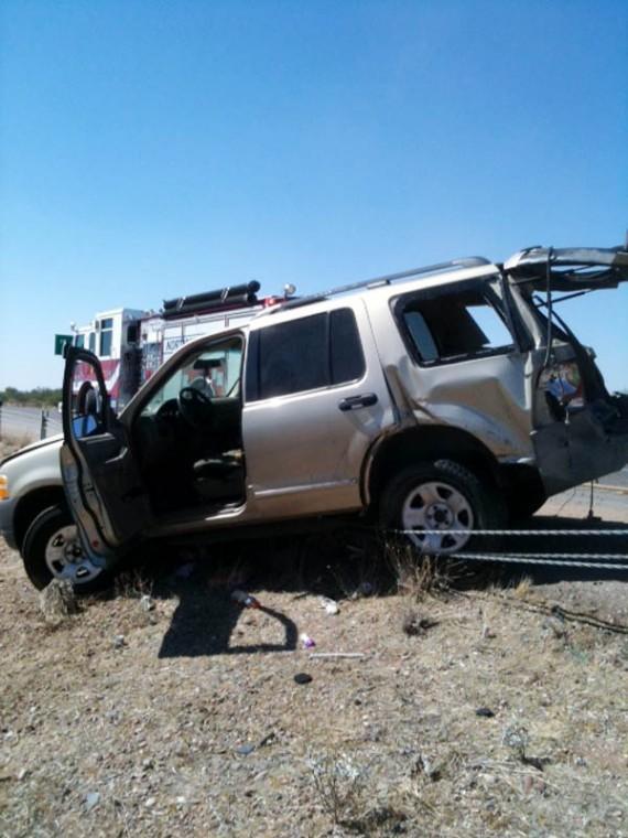 I-10 accident