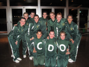 CDO Pomline: The Canyon Del Oro High School Pom line team recently won first place at the Arizona State Cheerleading  and Pom Tournament in Phoenix.  - Courtesy Photo