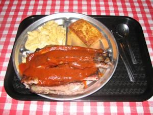 Mr. K's 3 Meat Rib Meal
