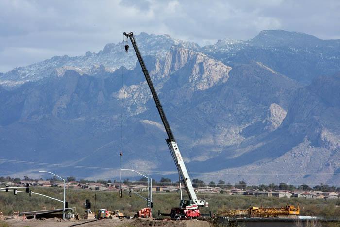 Twin Peaks construction