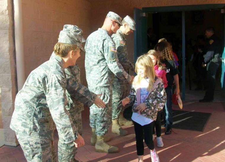 Wilson K-8 Kids, Soldiers