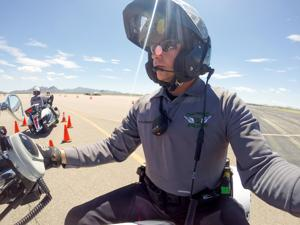 Oro Valley Police Department trains officers on new motorcycles