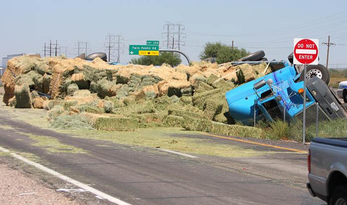 Hay Accident