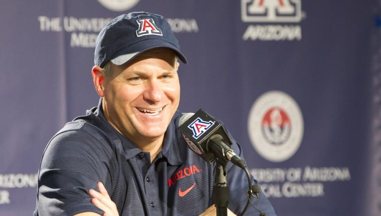 Rich Rodriguez UA football