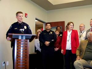 New Marana police chief sworn in