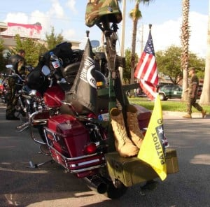 Patriot Guard Riders bike