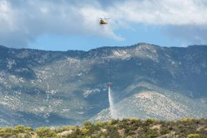 Catalina State Park Brush Fire