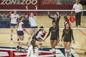 University Of Arizona Volleyball Vs. ASU - Arizona Athletics