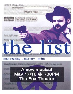 The List: A Musical