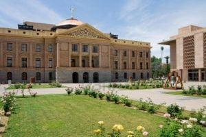 Arizona State Capitol Building: Arizona State Capitol Building - Courtesy Photo