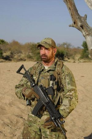 "Craig Sawyer: Oro Valley resident Craig Sawyer is a star on Animal Planet's ""Rhino Wars.""  - Courtesy Photo"