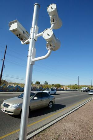 Speed and red-light cameras