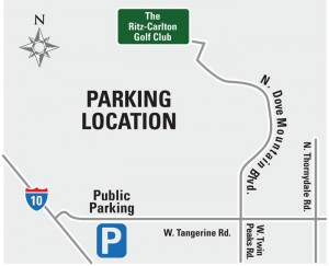 Accenture Parking Map: 2011 Accenture Match Play Parking Map