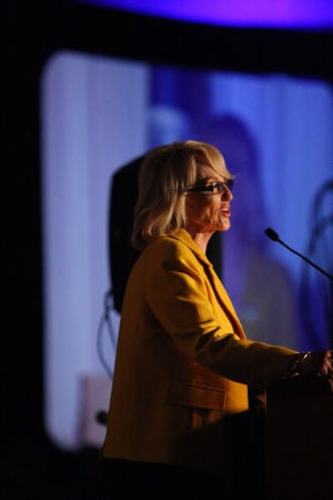 Brewer: Gov. Jan Brewer  - Randy Metcalf/The Explorer