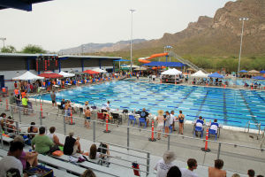 Oro Valley Aquatics Center: The Oro Valley Aquatics Center is becoming a premier location for local, state and national competitions. - Randy Metcalf/The Explorer