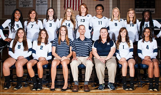 Pima Community College volleyball 2013