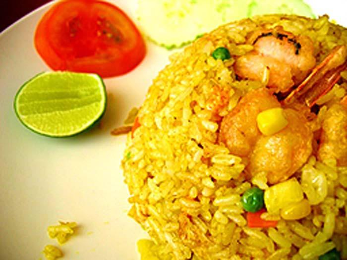 Fried rice for summer
