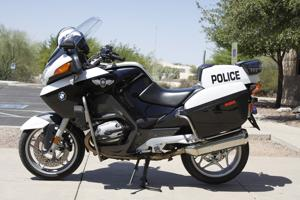 OVPD gets new grant-funded motorcycle
