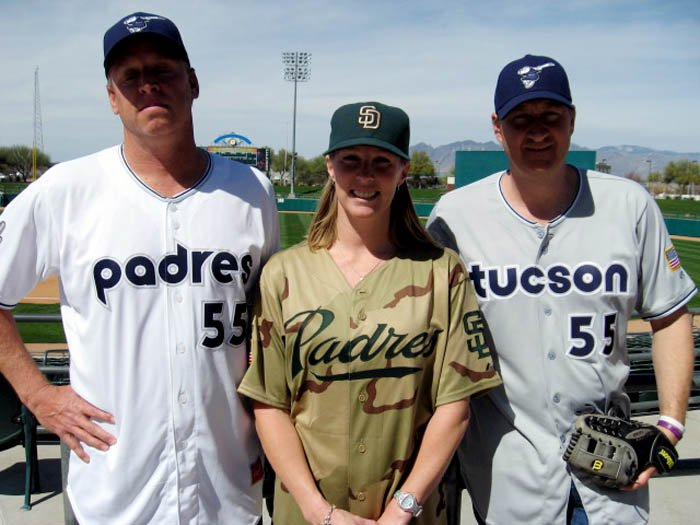 Padres Uniforms 1