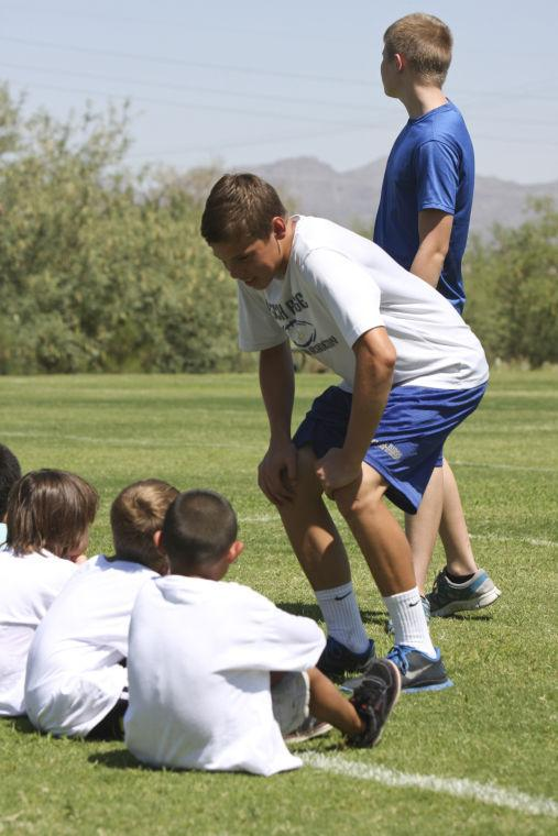 PRCA football camp