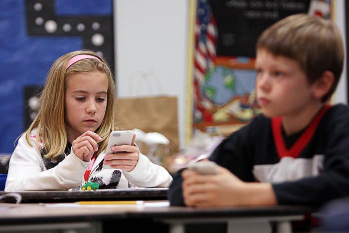 iPods in the classroom