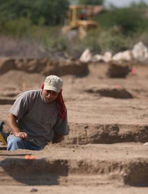 Silverbell dig's almost done