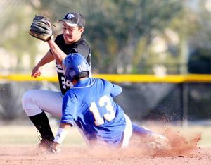 Marana Vs Mountain View Baseball