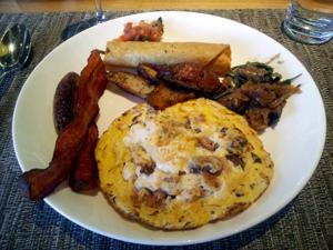 CORE Kitchen Sunday brunch