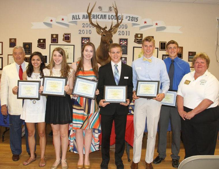 Elks Lodge Winners