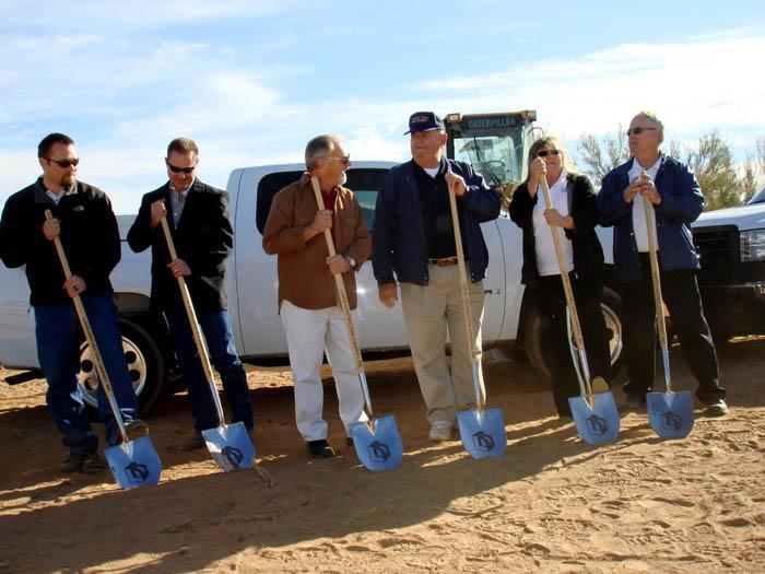 District breaks ground on its first fire station