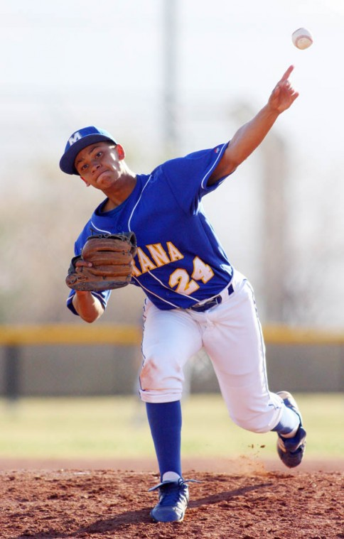 Marana Vs Mountain View Baseball