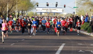 Arizona Distance Classic: A little more than 300 races start out on the 5K race.  - Randy Metcalf/The Explorer