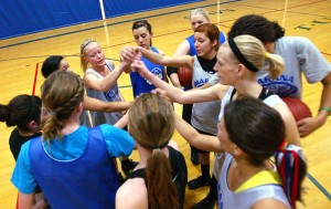 Marana Basketball: The Marana girls' basketball team has worked to come together on multiple levels this season after suffering the unexpected loss of a teammate earlier this year.  - Randy Metcalf/The Explorer
