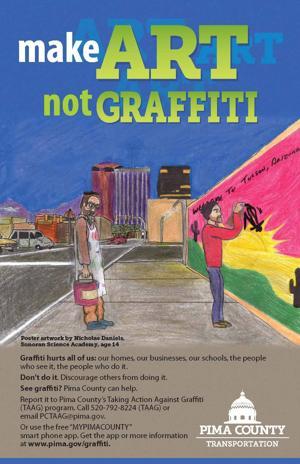 Make Art Not Graffiti