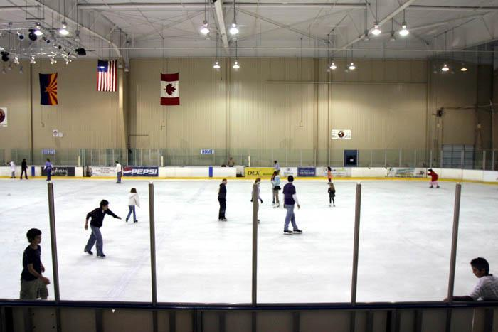 Proposals sought for an ice rink